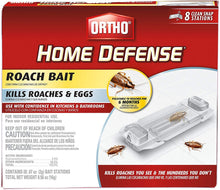 Load image into Gallery viewer, Ortho 0464912 Home Defense Roach Bait Station, 8 Pk