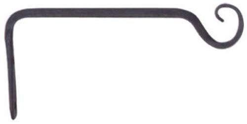 Panacea 89406 Forged Straight Hook, Black, 6-Inch