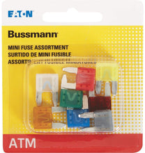 Load image into Gallery viewer, Bussmann BP/ATM-A8-RP Mini-Fuse Assortment, 8 Pack