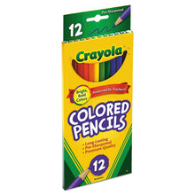Load image into Gallery viewer, Crayola 68-4012 Colored Pencils, 12-Count, Pack of 1, Assorted Colors