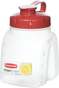 Rubbermaid 849-3101-3238 FBA_FG3093RDCHILI MixerMate Servin' Saver, 1 Pint Bottle, 1-Pack, White