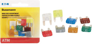 Bussmann BP/ATM-A8-RP Mini-Fuse Assortment, 8 Pack