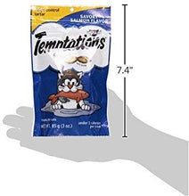 Load image into Gallery viewer, Whiskas Temptations Savory Salmon Cat Treats, 3 oz