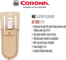 Load image into Gallery viewer, Corona AC 7220 Leather Pruner Scabbard Holster, 5-Inch