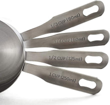 Load image into Gallery viewer, Norpro Stainless Steel Measuring Cups