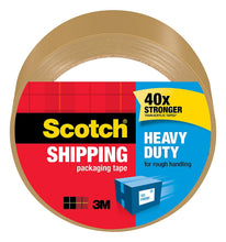 Load image into Gallery viewer, 3M 3501T Scotch Tan Packaging Tape 48mm by 50 m, 1-Pack