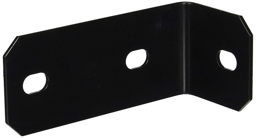 NATIONAL MFG/SPECTRUM BRANDS HHI N351-498 Corner Brace, 6.8-Inch, Black