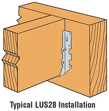 Load image into Gallery viewer, (50 Count) Simpson Strong-Tie LUS28 Joist Hanger