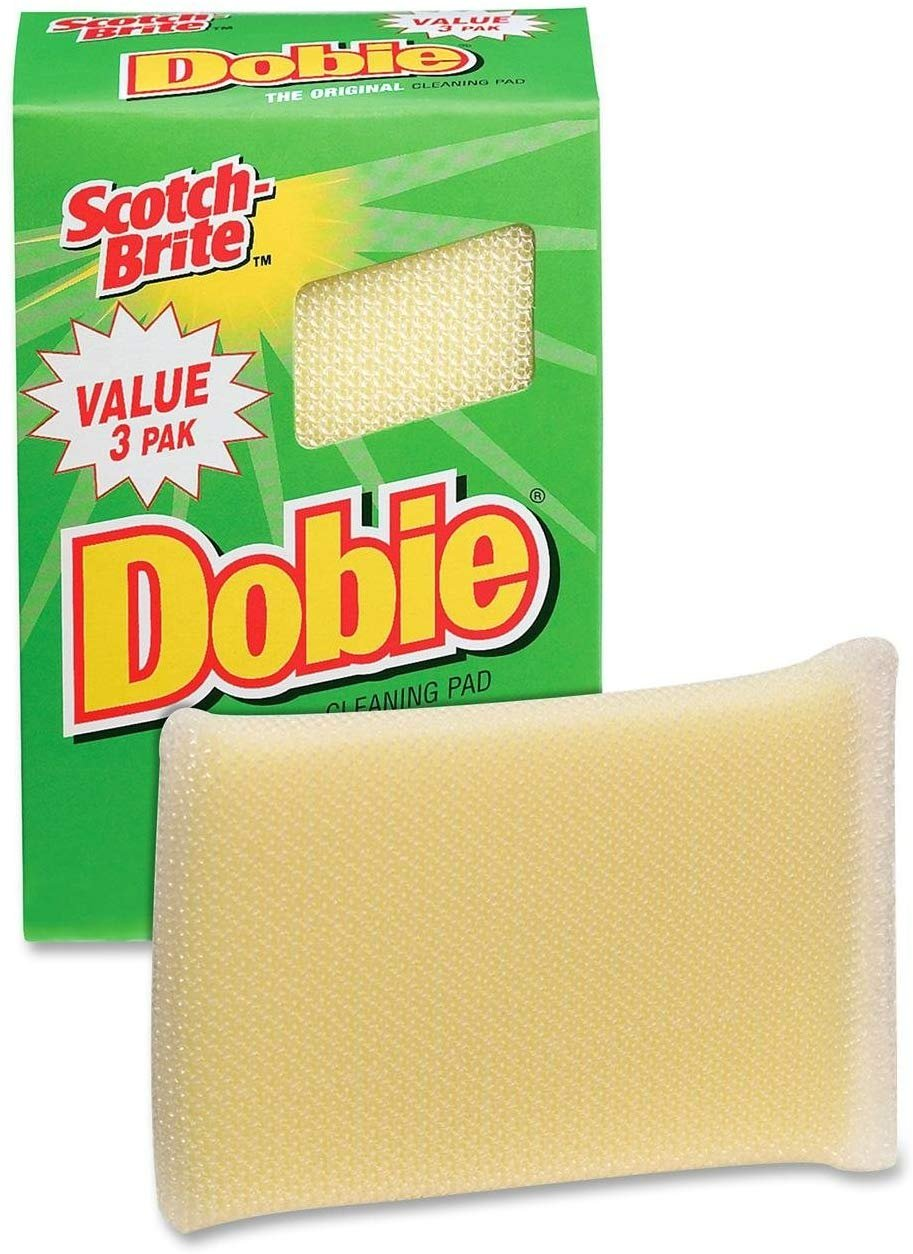 3PK Dobie Cleaning Pad