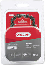 Load image into Gallery viewer, Oregon S40 AdvanceCut 10-Inch Chainsaw Chain, Fits Craftsman, Poulan, Remington