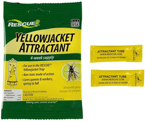 RESCUE Non-Toxic Yellowjacket Trap Attractant Refill, 4 weeks