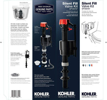 Load image into Gallery viewer, KOHLER GENUINE PART GP1083167 Silent Fill Valve Kit For All Kohler Class Five Toilets - Pack 3