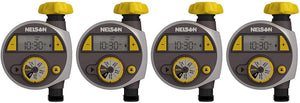 Nelson 56607 Timer with LCD Screen, Large (1, 8.75 x 6 x 2.88 in (4-Pack))