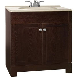 "Rsi Home Products Sales 30-3/4X18 Oak Vanity, 30-3/4"" by 18"""