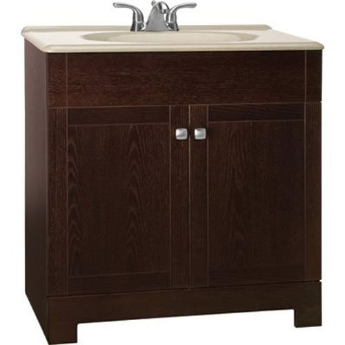 Rsi Home Products Sales 30-3/4X18 Oak Vanity, 30-3/4