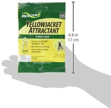 Load image into Gallery viewer, RESCUE Non-Toxic Yellowjacket Trap Attractant Refill, 4 weeks