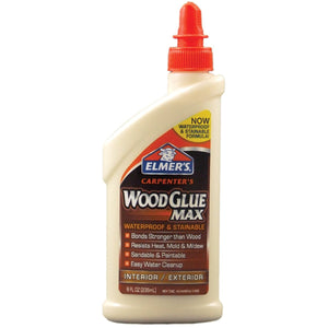 Elmer's E7300 8 Oz Carpenter's Wood Glue Max