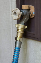 Load image into Gallery viewer, Camco RV Brass Inline Water Pressure Regulator- Helps Protect RV Plumbing and Hoses from High-Pressure City Water, Lead Free (40055)