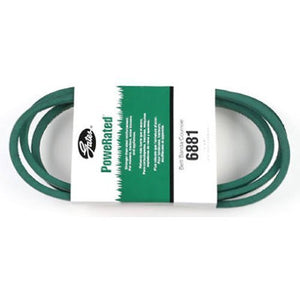 "Gates 6881 PoweRated V-Belt, 4L Section, 1/2"" Width, 5/16"" Height, 81.0"" Belt Outside Circumference"