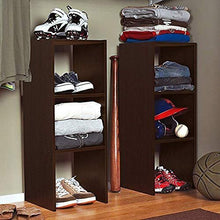 Load image into Gallery viewer, ClosetMaid 8956 Stackable 31-Inch Vertical Organizer, Espresso