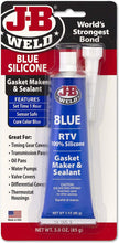 Load image into Gallery viewer, J-B Weld 31316 Blue RTV Silicone Gasket Maker and Sealant, 3. Fluid_Ounces