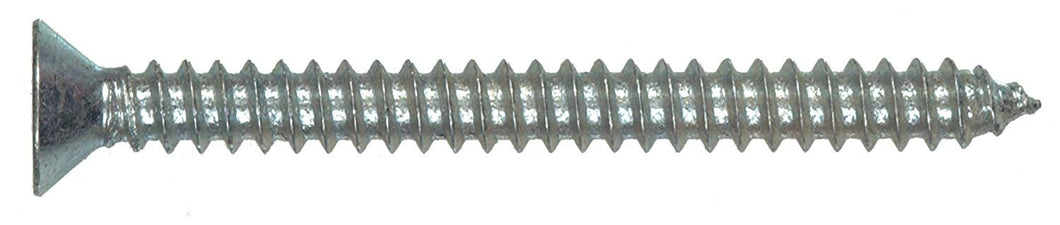 The Hillman Group 80168 6 x1-Inch Flat Head Phillips Sheet Metal Screw, 100-Pack