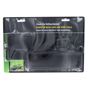 MINTCRAFT GB0043 Flower Box Bracket, 2-Pack