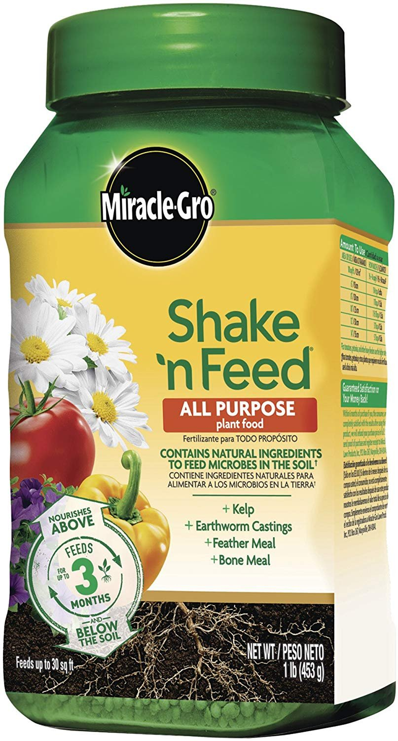 Miracle-Gro 3001810 1Lb All Purp Plant Food, 1 LB