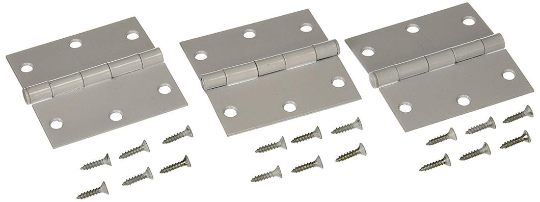 NATIONAL MFG/SPECTRUM BRANDS HHI N830-335 Hinge 3.5-Inch White