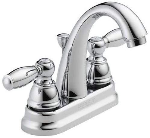 Peerless P299696LF Apex Two Handle Bathroom Faucet, Chrome