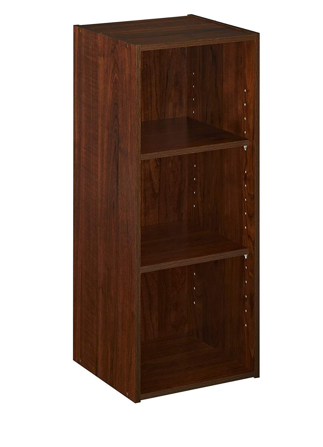 ClosetMaid 1305 Stackable 3-Shelf Organizer, Dark Cherry