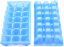 Load image into Gallery viewer, Camco Stackable Miniature Ice Cube Tray for Mini Fridges, RV/Marine, Dorm Small Freezers, (2 Pack) (44100), Blue