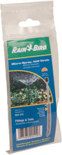 Load image into Gallery viewer, Rain Bird MSH2PKS Drip Irrigation 10-32 Threaded Micro-Spray Nozzle, 180° Half Circle Pattern, 0 - 10.5' Spray Distance, 2-Pack