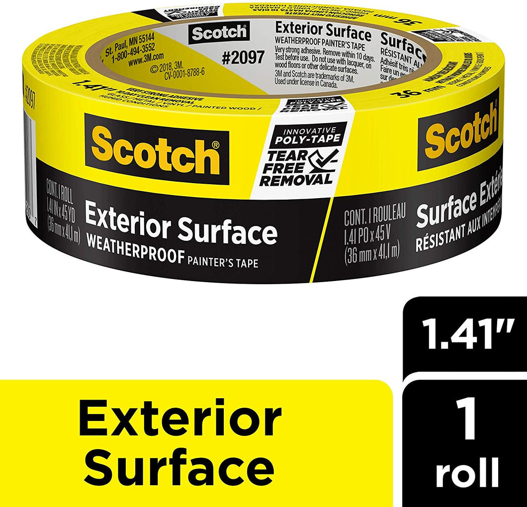 Scotch Painter's Tape 2097-36EC-XS, 1.41
