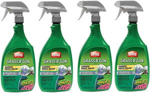 Ortho 0438580 Grass B Gon Garden Grass Killer Ready-to-Use, 24-Ounce, 4 Pack