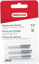 Load image into Gallery viewer, Oregon 28840 5/32-Inch Chainsaw Replacement Sharpening Stone