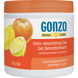 Weiman Products LLC Gonzo Natural Magic Odor Absorbing Scented Gel  4119D
