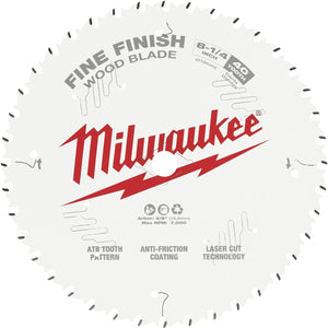 Milwaukee Finish Circular Saw Blade 48-40-0822