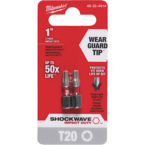 Milwaukee Shockwave Insert Impact Screwdriver Bit 48-32-4414