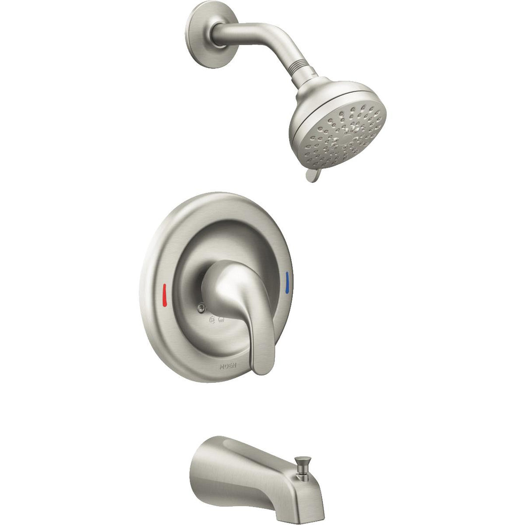 Moen Adler 1-Handle Tub and Shower Faucet 82603SRN
