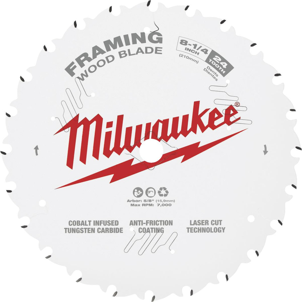 Milwaukee Framing Circular Saw Blade 48-40-0820