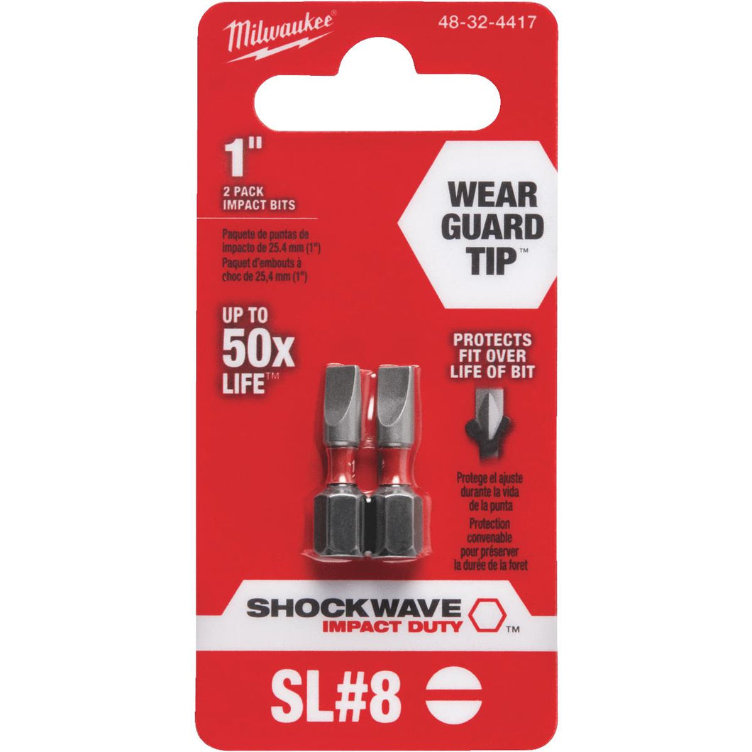 Milwaukee Shockwave Insert Impact Screwdriver Bit 48-32-4417