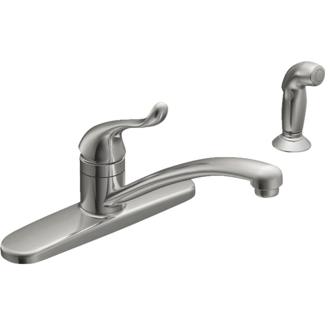 Moen Single Handle Kitchen Faucet With Matching Spray CA87530