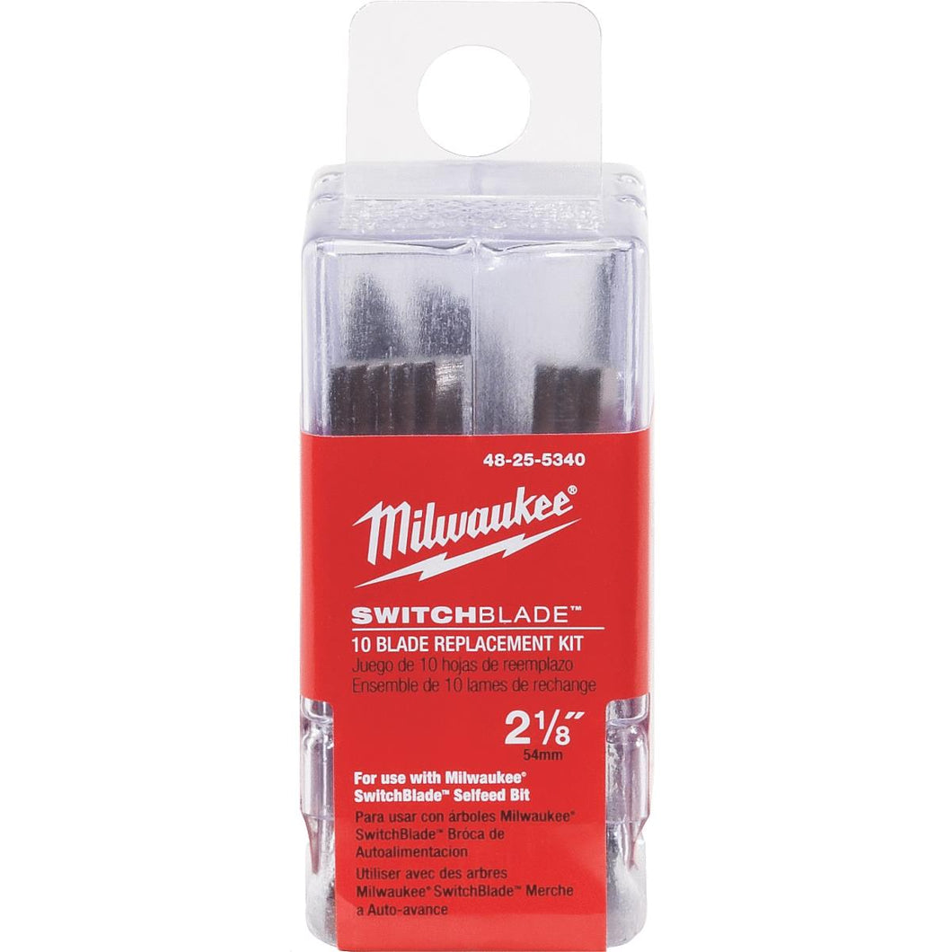 Milwaukee SwitchBlade 10 Pack Replacement Blade Kit 48-25-5340
