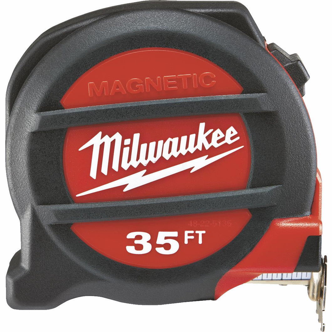 Milwaukee Magnetic Tape Measure with Blueprint Scale 48-22-0135