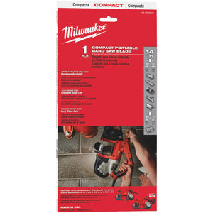 Milwaukee Compact Band Saw Blade 48-39-0518