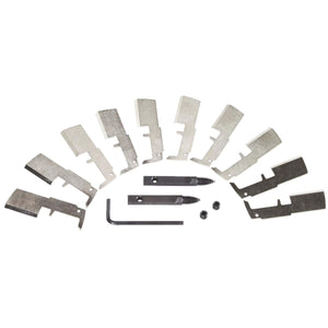 Milwaukee SwitchBlade 10 Pack Replacement Blade Kit 48-25-5350