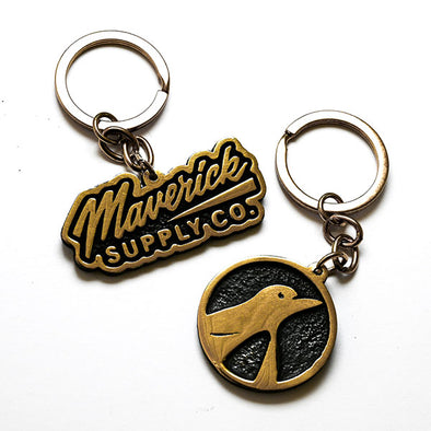 BRASSCO BY SWEDA X MAVERICK Supply Co.  Keychain