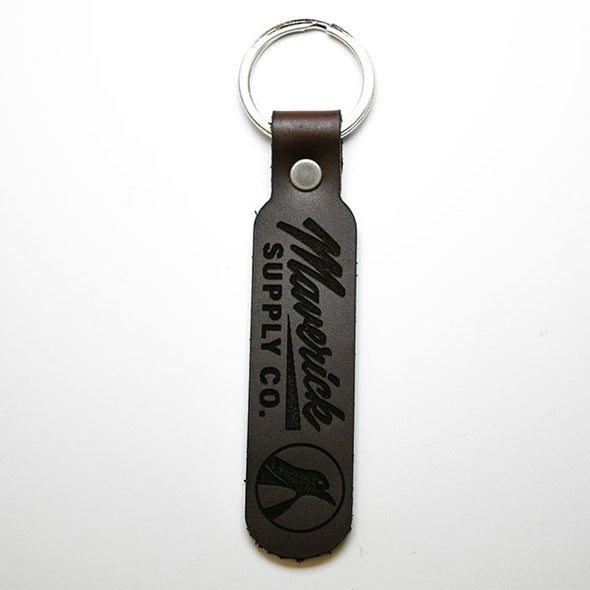 HAND CRAFTED LEATHER KEYCHAIN