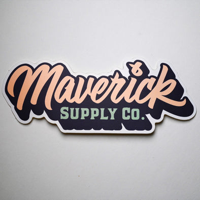 Maverick Supply Co. Sticker